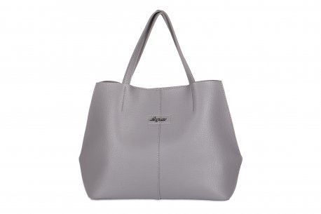 Klasyczna torebka damska A4 shopper bag trapez