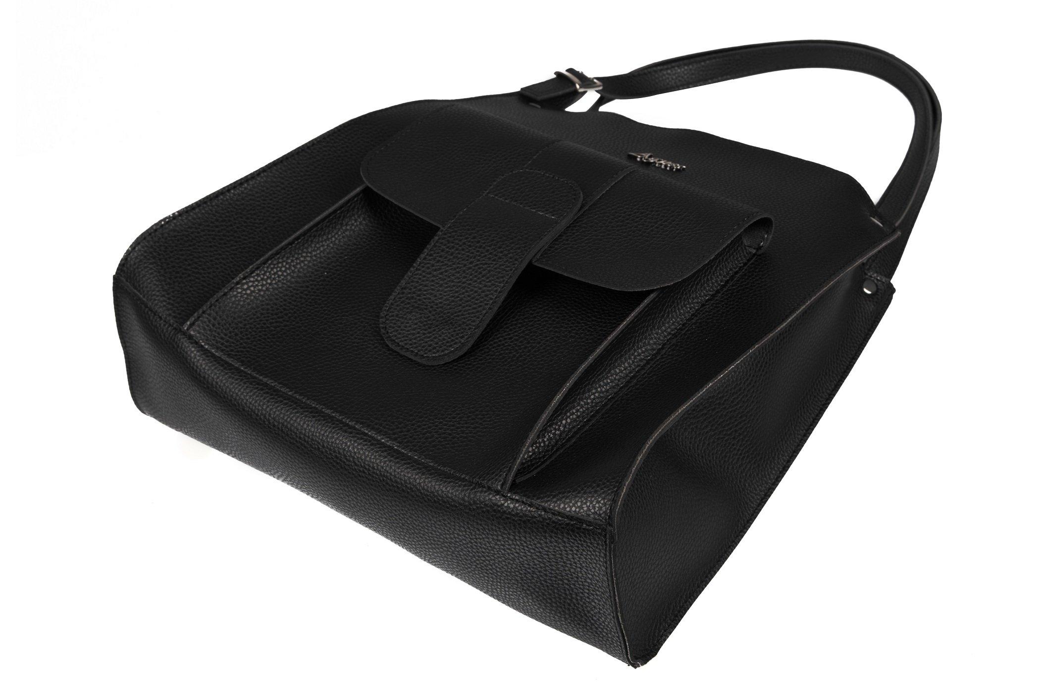 baf8fbe5cb2a53 Pojemna torebka damska A4 miejska, do szkoły, pracy, cena - sklep ...