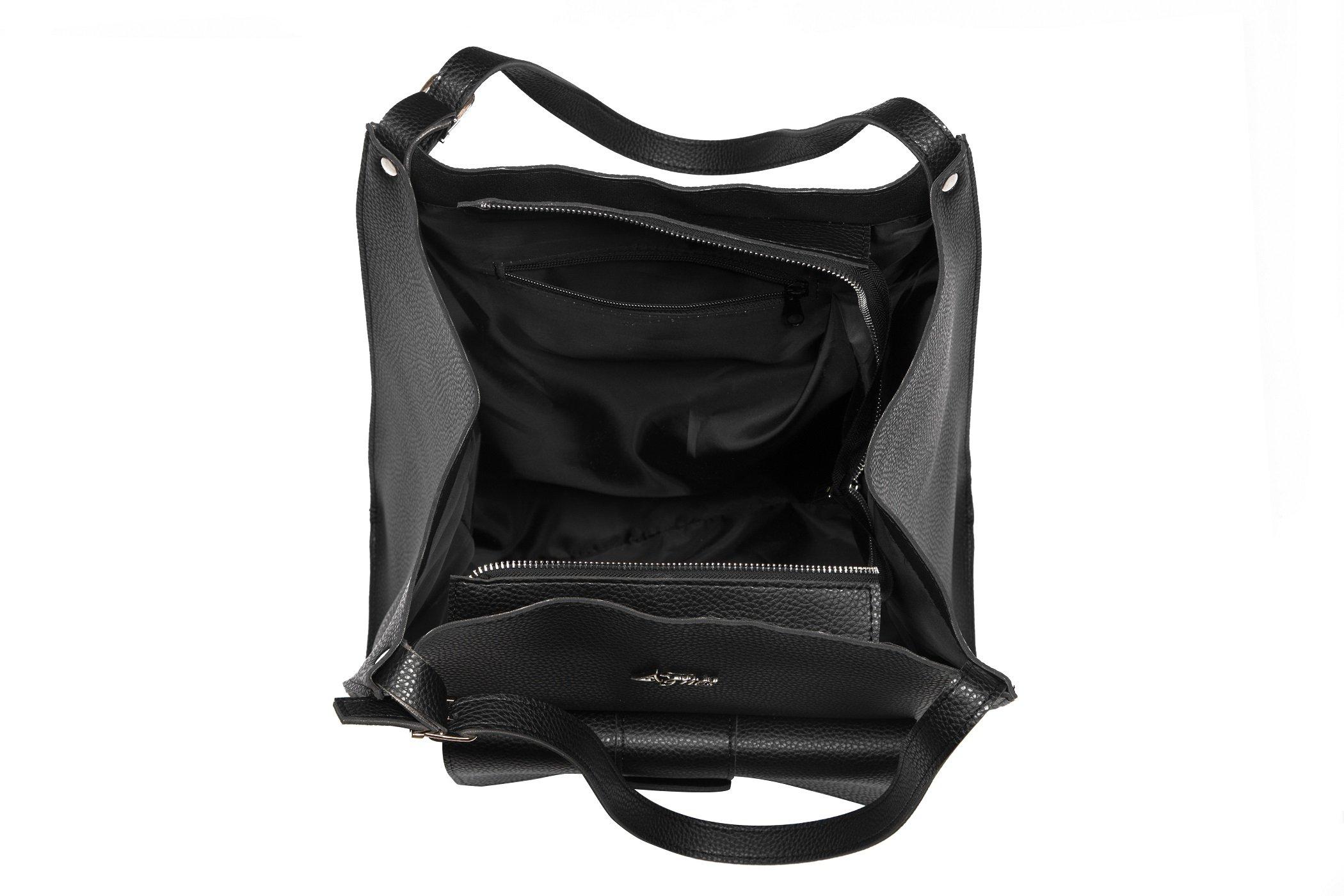 Pojemna duża torebka shopperka A4