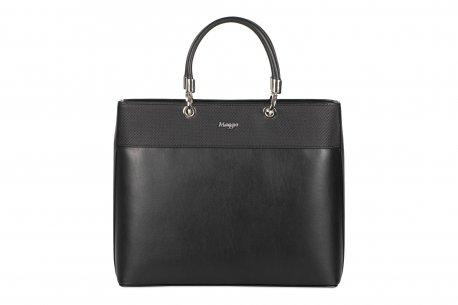 4ce0dfc930eab Elagancka, klasyczna torebka damska A4. aktówka, czarna, cena ...