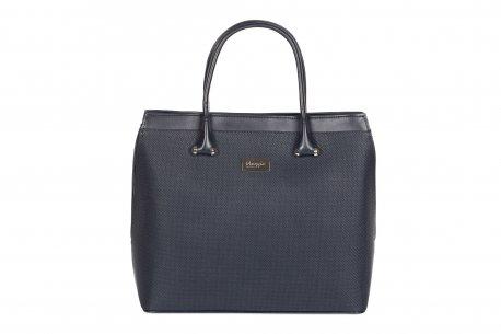 Pojemna modna torebka damska A4 usztywniana