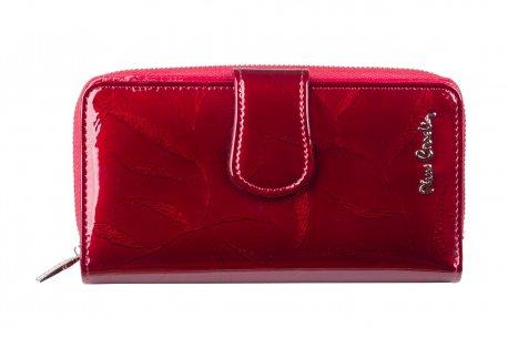 Skórzany portfel damski portmonetka Pierre Cardin PC116