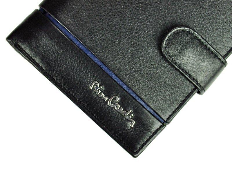 6fb11e345ac5e ... Skórzany męski portfel Pierre Cardin SAHARA TILAK15 331A RFID ...