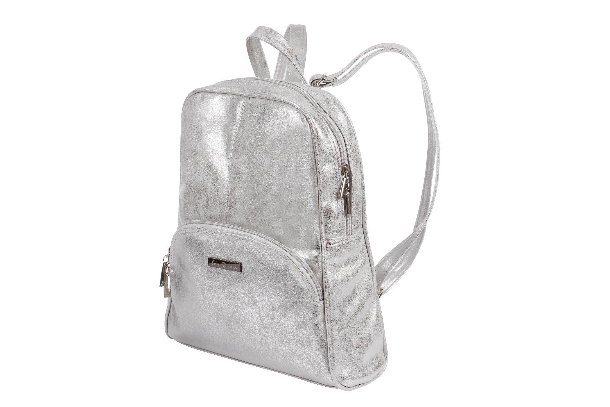 0e5dcec4d9e41 Torebka plecak - kolor srebrny, cena, opinie - sklep MB Classic Bag