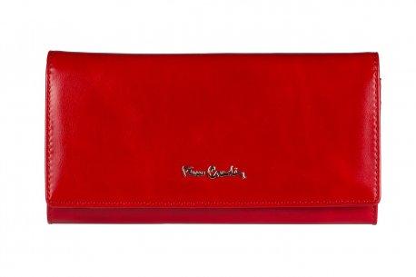 Skórzany klasyczny portfel damski Pierre Cardin PC 100