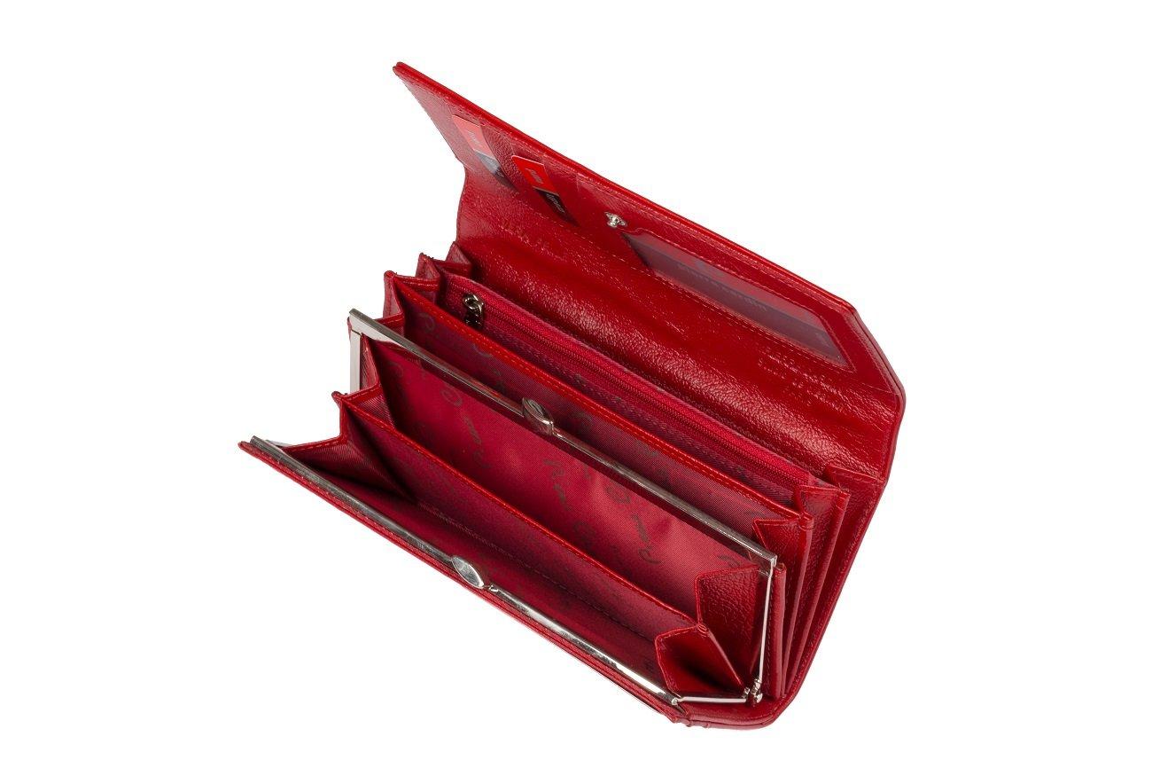 cdf9a195610b5 ... Skórzany klasyczny portfel damski Pierre Cardin PC 100 ...