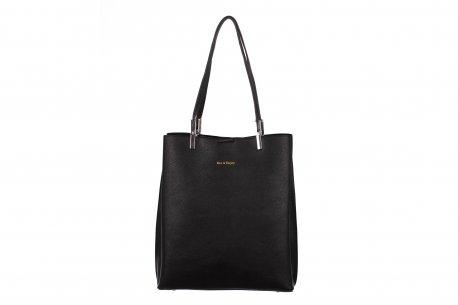 Klasyczna pojemna torebka damska A4 3 komory shopper bag