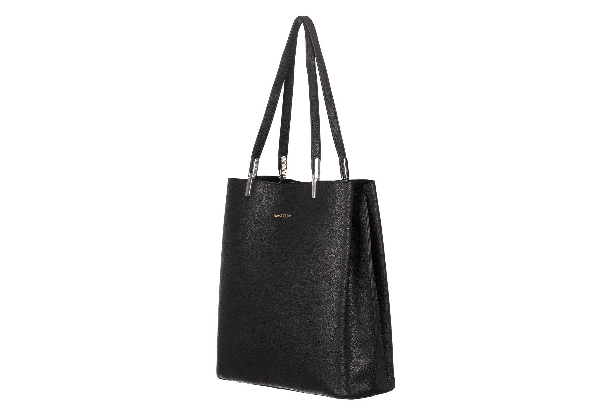 1a58a26f4dd24 ... Klasyczna pojemna torebka damska A4 3 komory shopper bag ...