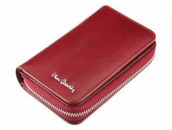 Skórzany portfel damski Pierre Cardin czerwony