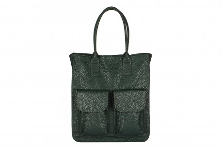 Pojemna torebka damska A4 shopperka kieszenie