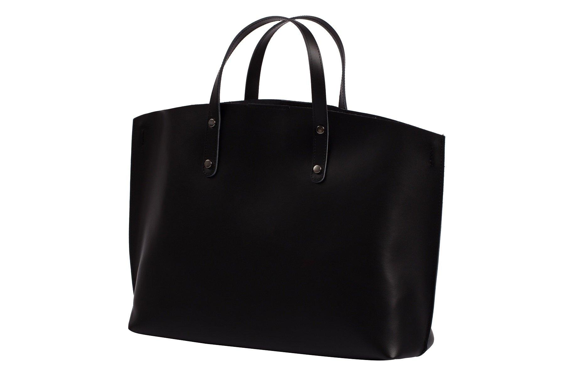 299272d76f107 ... Włoska torebka A4 shopper bag SKÓRA naturalna ...