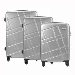 Zestaw walizek podróżnych kabinowych 3w1