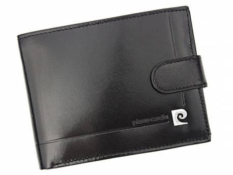 Portfel męski skórzany RFID Pierre Cardin czarny
