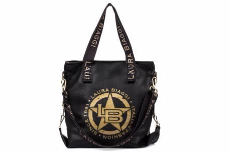 Duża pojemna torebka damska A4 shopper bag
