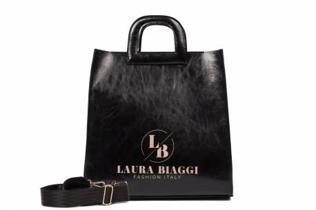 Torebka damska Laura Biaggi shopperka  A4 do ręki