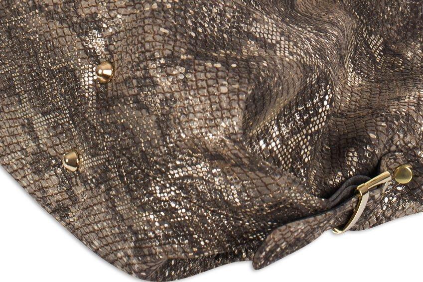fe3838ad2f4d1 Torebka damska miejska miękka, skóra węża, cena - sklep