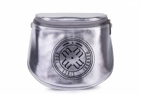 MONNARI torebka listonoszka pasek z logo na ramię