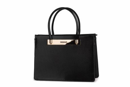 Klasyczna torebka damska MONNARI teczka aktówka kuferek