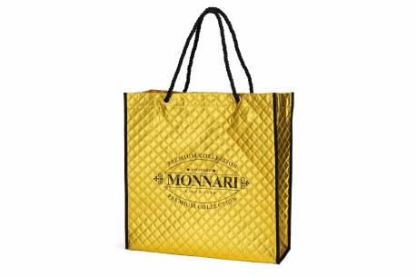 Torba na zakupy pikowana MONNARI